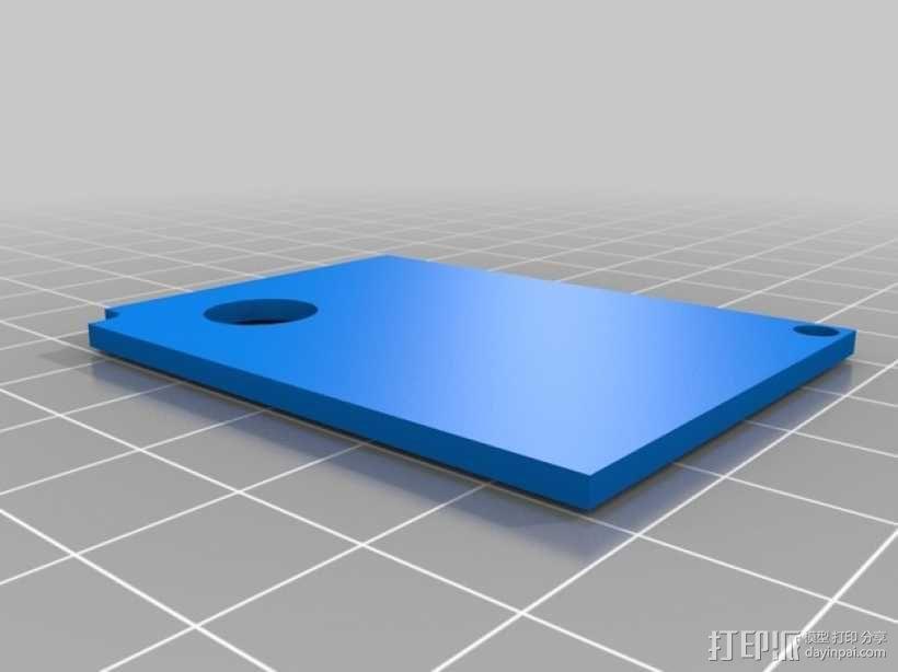 电源保护罩 3D模型  图7