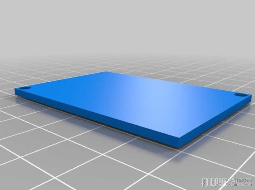 电源保护罩 3D模型  图8