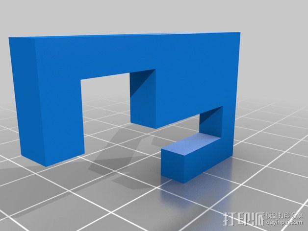 Graber i3打印机 3D模型  图3