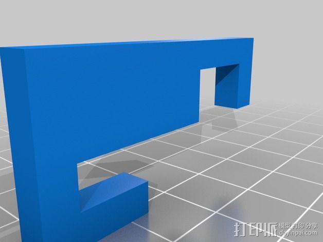 Graber i3打印机 3D模型  图4