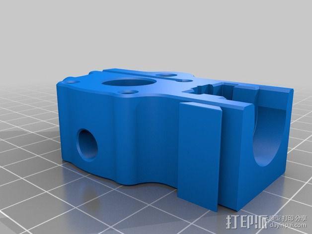 makergear m2打印机送料器和风扇导管 3D模型  图9