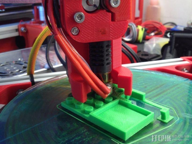 Mini Kossel挤出机导管 3D模型  图3
