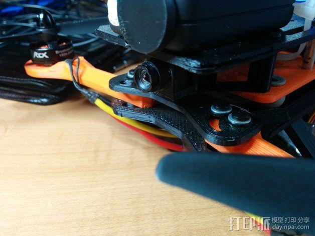 四轴式相机支架 3D模型  图2
