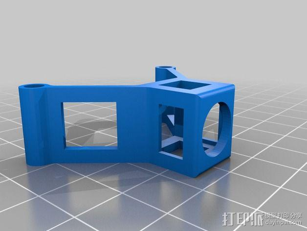 四轴式相机支架 3D模型  图3