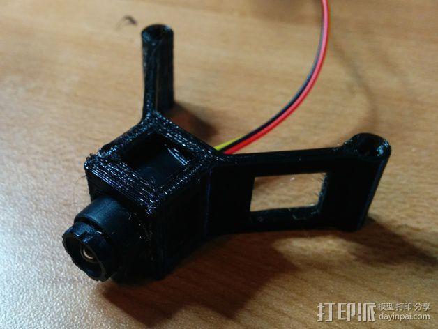 四轴式相机支架 3D模型  图1