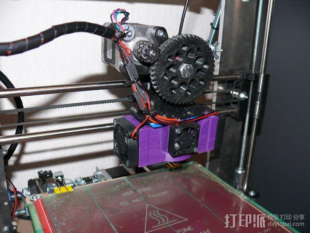 Prusa i3 打印机 J-Head式喷头散热系统 3D模型  图7