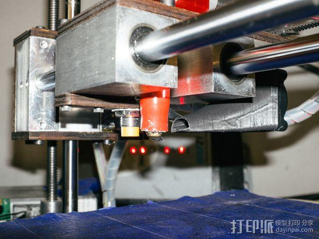 Printrbot打印机风扇罩 3D模型  图5