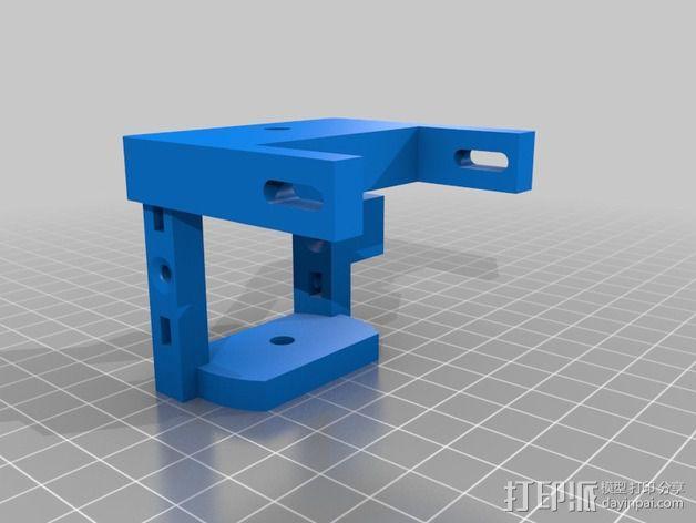 MK7齿轮挤出机  3D模型  图3