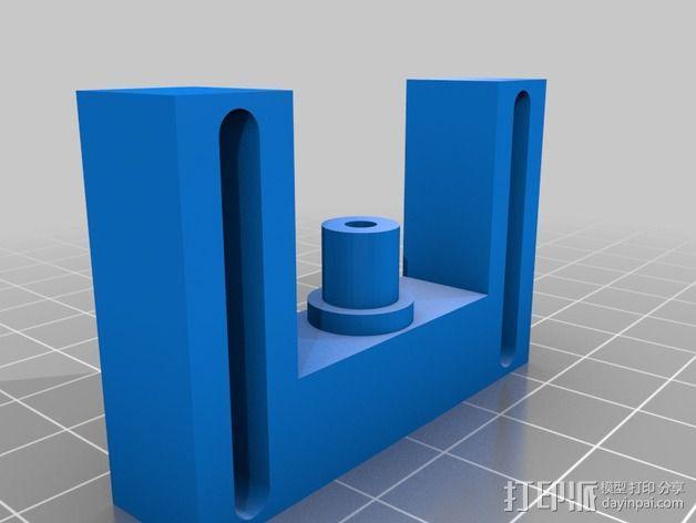 MK7齿轮挤出机  3D模型  图4