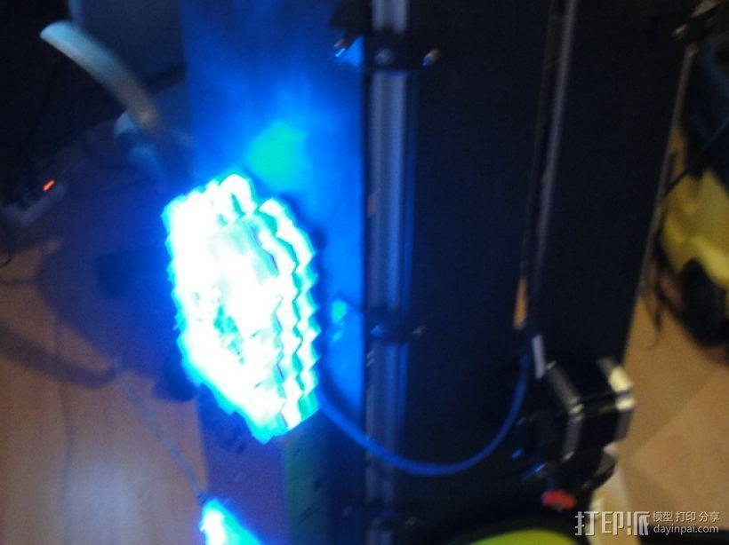 蜂巢式电路板保护罩 3D模型  图2