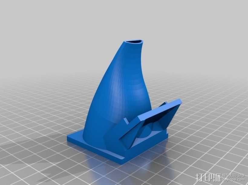 50毫米风扇支架 3D模型  图1