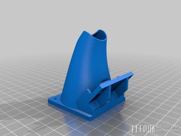 50毫米风扇支架 3D模型  图4