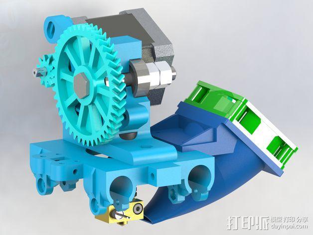 50毫米风扇支架 3D模型  图3