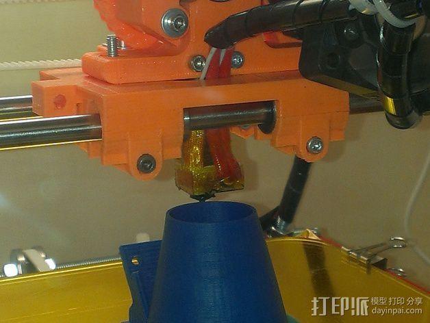 50毫米风扇支架 3D模型  图5
