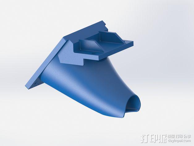 50毫米风扇支架 3D模型  图9