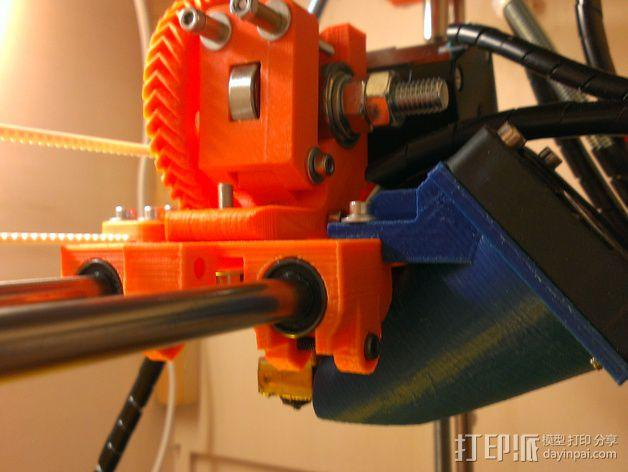 50毫米风扇支架 3D模型  图12