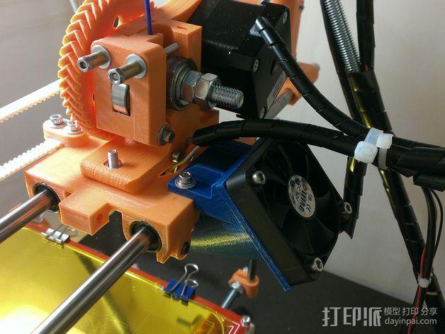50毫米风扇支架 3D模型  图10