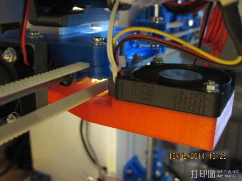 风扇导管 3D模型  图11