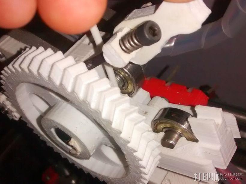 Extrusor Gregs 挤出机部件 3D模型  图1