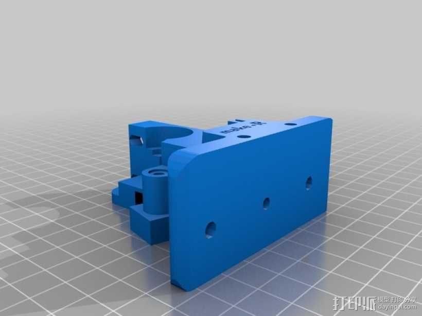 Extrusor Gregs 挤出机部件 3D模型  图2