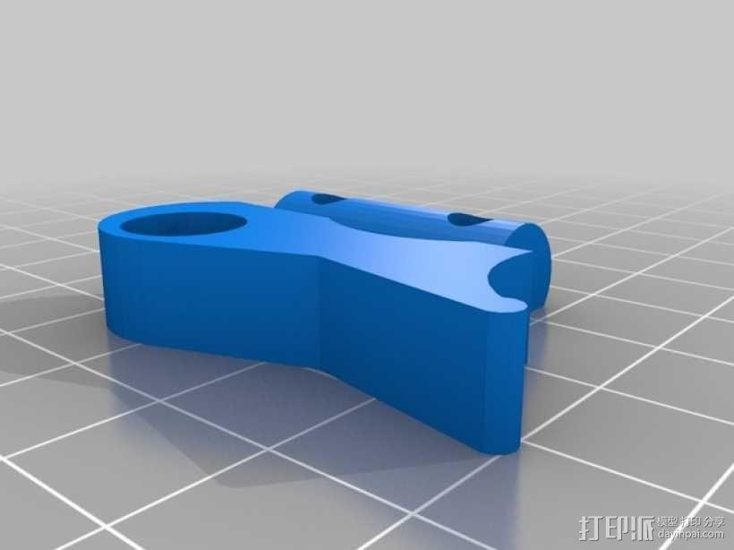 Extrusor Gregs 挤出机部件 3D模型  图4