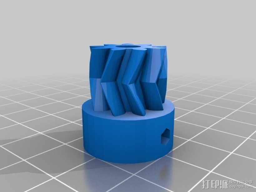 Extrusor Gregs 挤出机部件 3D模型  图5