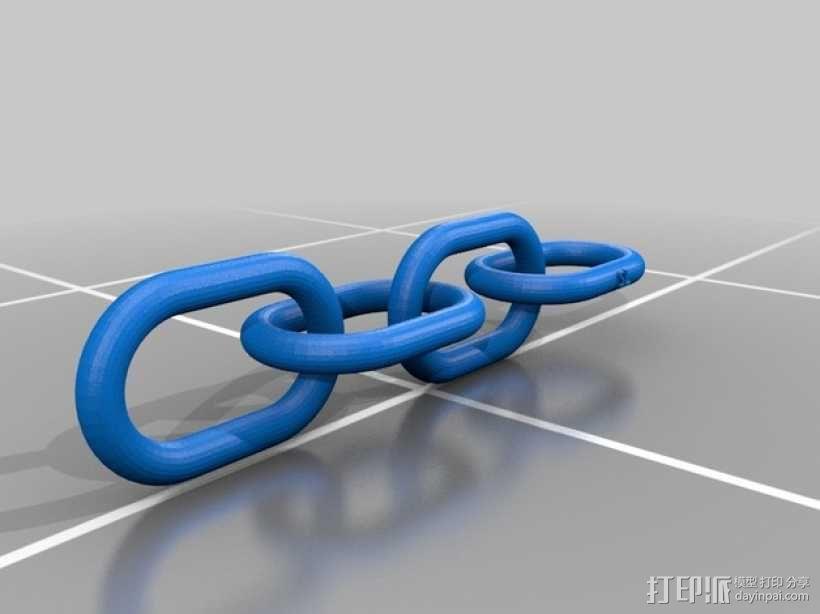 锁链 3D模型  图3