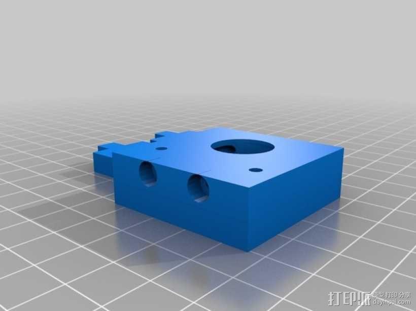 J-Head式喷嘴支架 3D模型  图1