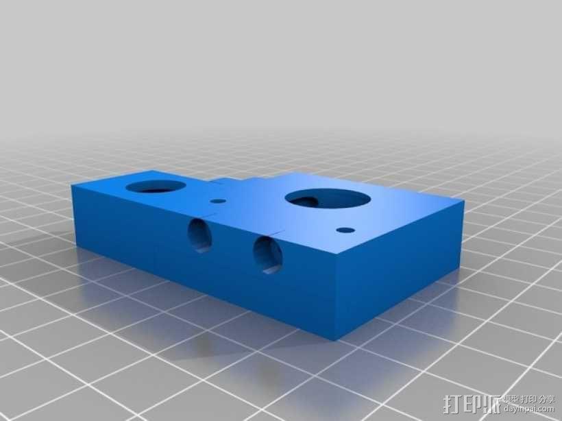 J-Head式喷嘴支架 3D模型  图3