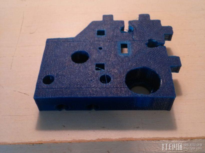 J-Head式喷嘴支架 3D模型  图4