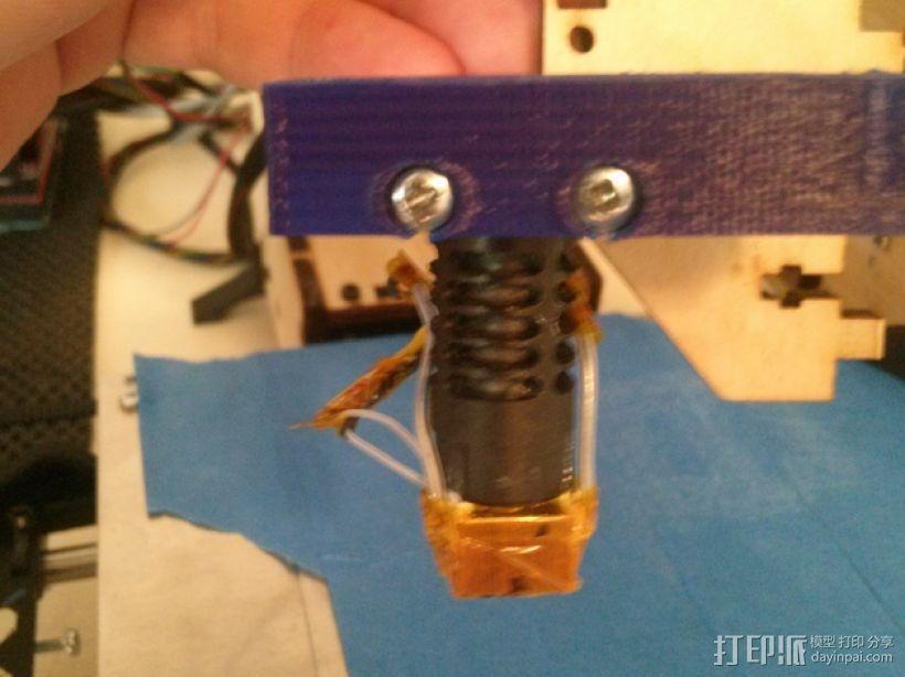 J-Head式喷嘴支架 3D模型  图5