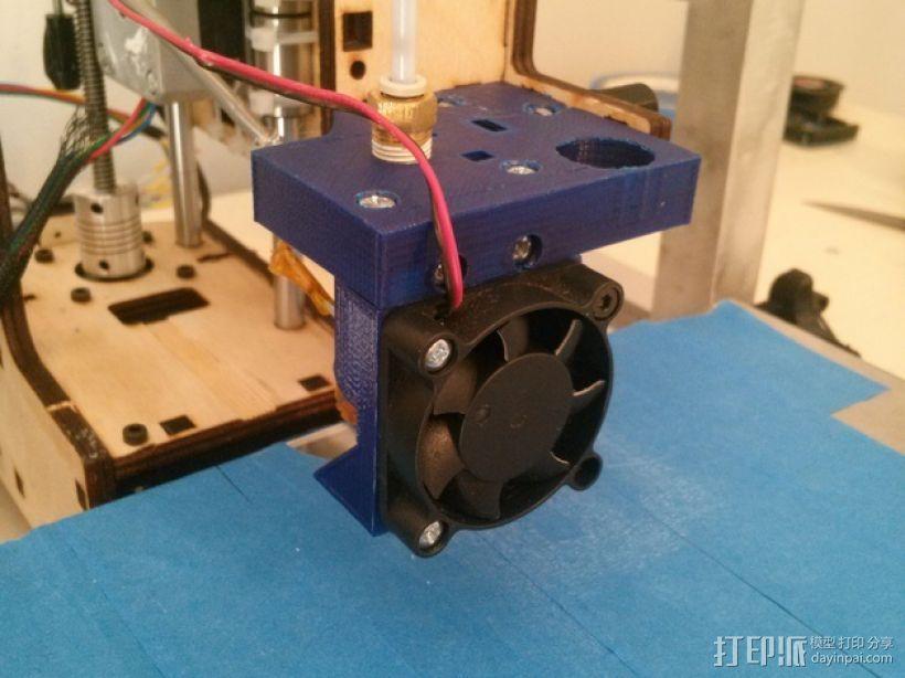 J-Head式喷嘴支架 3D模型  图11