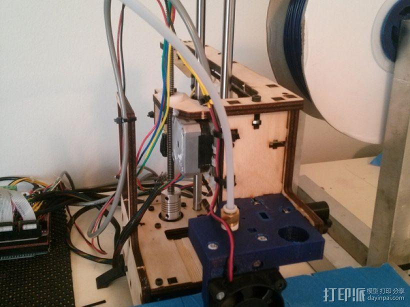 J-Head式喷嘴支架 3D模型  图10