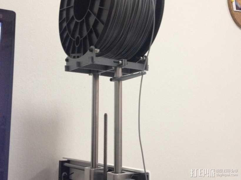 Printrbot 打印机线轴支架 3D模型  图1