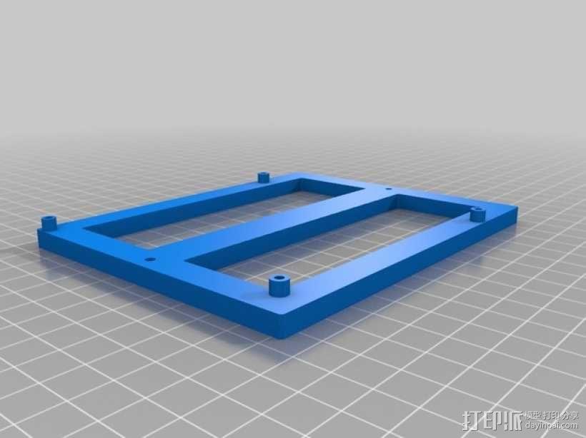 Mini Kossel 打印机电路板支架 3D模型  图6