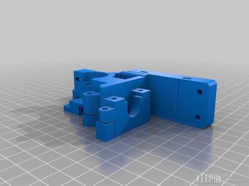 E3Dv5挤出机 3D模型  图2