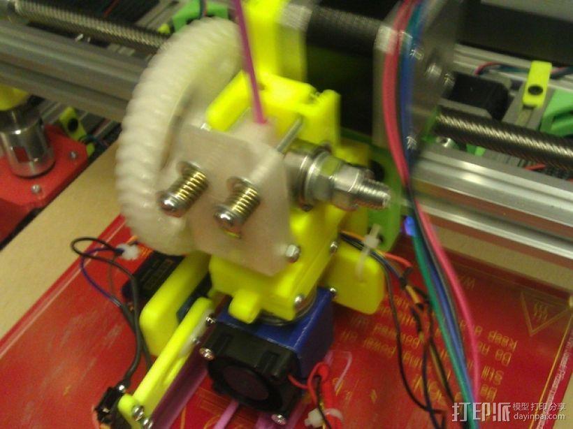 E3Dv5挤出机 3D模型  图3