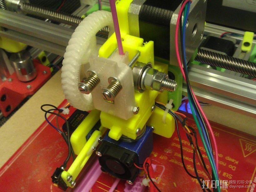 E3Dv5挤出机 3D模型  图5