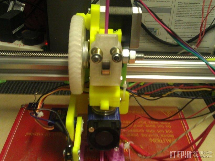 E3Dv5挤出机 3D模型  图4