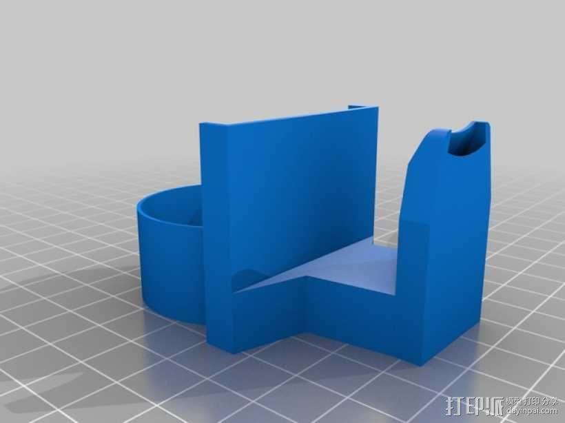 风扇导管 导管夹 3D模型  图4