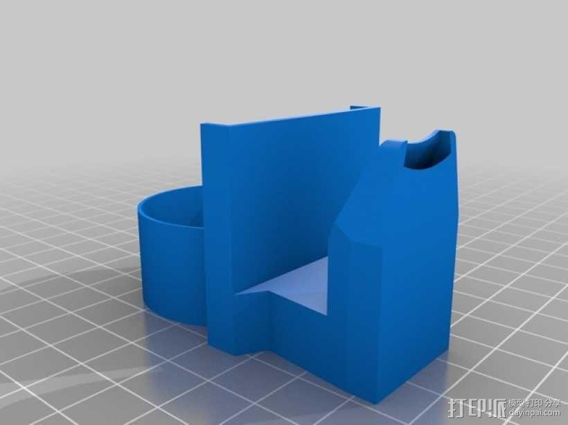 风扇导管 导管夹 3D模型  图3