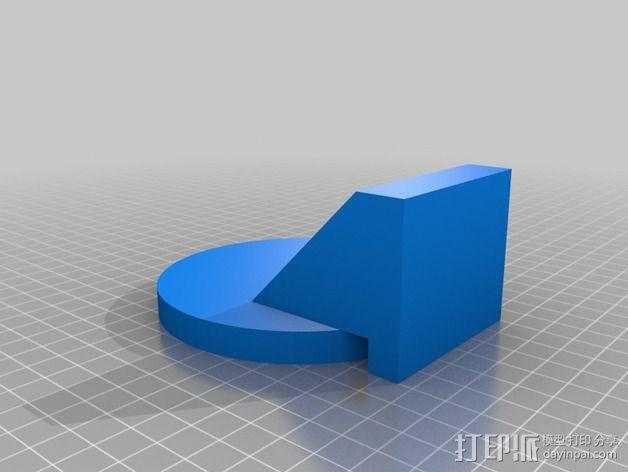靶子 3D模型  图2