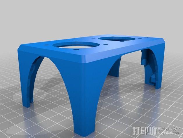 K8200 风扇支架 3D模型  图2