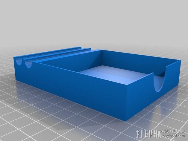 笔架 笔盒 3D模型  图1