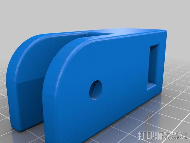 Prusa i3打印床减震器 3D模型  图3