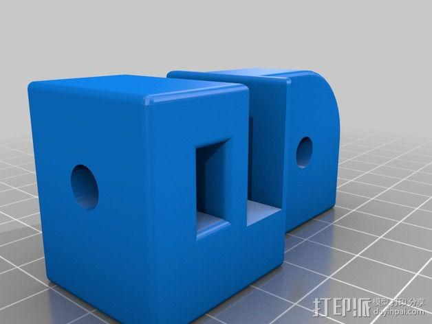 Prusa i3打印床减震器 3D模型  图4
