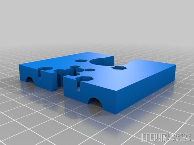 Mendel Max 打印机 3D模型  图3