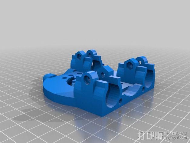 Mendel Max 打印机 3D模型  图7