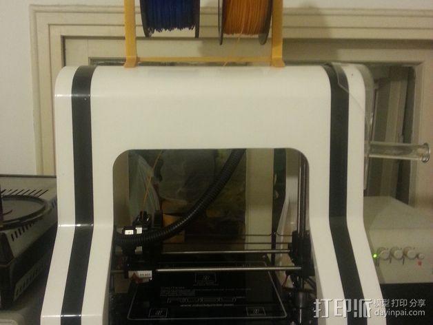 Robo 3D打印机的线轴支撑架 3D模型  图7