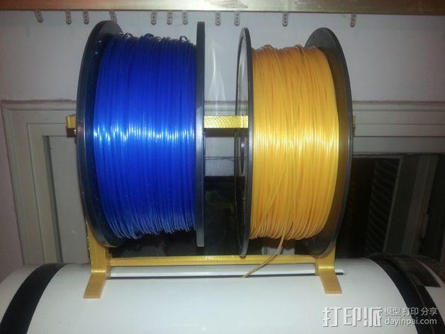 Robo 3D打印机的线轴支撑架 3D模型  图6